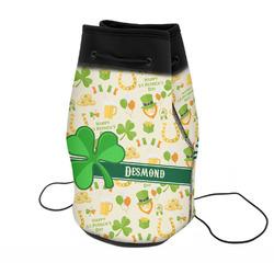 St. Patrick's Day Neoprene Drawstring Backpack (Personalized)