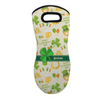 St. Patrick's Day Neoprene Oven Mitt - Single w/ Name or Text