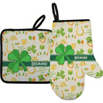 St. Patrick's Day Oven Mitt & Pot Holder (Personalized)