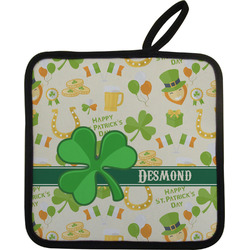St. Patrick's Day Pot Holder (Personalized)