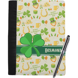 St. Patrick's Day Notebook Padfolio (Personalized)