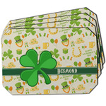 St. Patrick's Day Dining Table Mat - Octagon w/ Name or Text