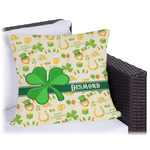 St. Patrick's Day Outdoor Pillow (Personalized)