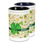 St. Patrick's Day Ceramic Pencil Holder - Large