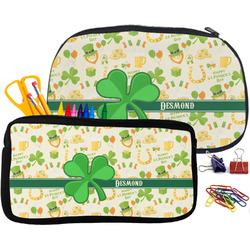 St. Patrick's Day Neoprene Pencil Case (Personalized)