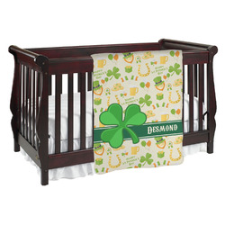 St. Patrick's Day Baby Blanket (Personalized)