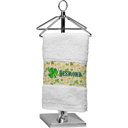 St. Patrick's Day Cotton Finger Tip Towel (Personalized)