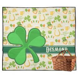 St. Patrick's Day Outdoor Picnic Blanket (Personalized)