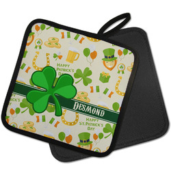 St. Patrick's Day Pot Holder w/ Name or Text