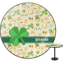 St. Patrick's Day Round Table (Personalized)