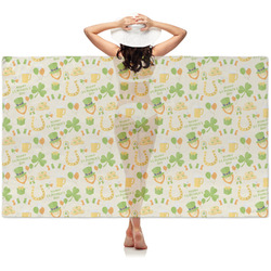 St. Patrick's Day Sheer Sarong (Personalized)