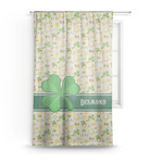 St. Patrick's Day Sheer Curtains (Personalized)