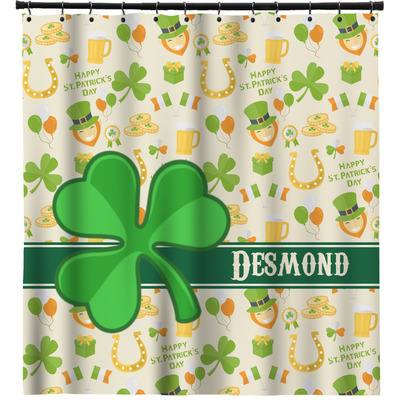 St. Patrick's Day Shower Curtain (Personalized)