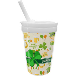 St. Patrick's Day Sippy Cup with Straw (Personalized)