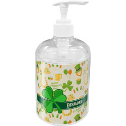 St. Patrick's Day Soap / Lotion Dispenser (Personalized)