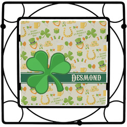 St. Patrick's Day Square Trivet (Personalized)