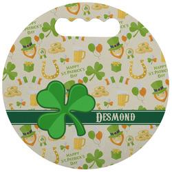 St. Patrick's Day Stadium Cushion (Round) (Personalized)