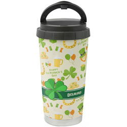 St. Patrick's Day Stainless Steel Coffee Tumbler (Personalized)