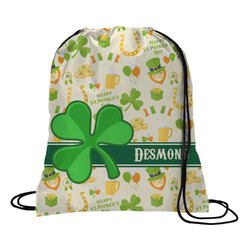 St. Patrick's Day Drawstring Backpack (Personalized)