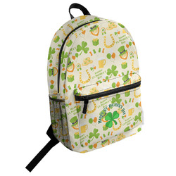 St. Patrick's Day Student Backpack (Personalized)