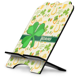 St. Patrick's Day Stylized Tablet Stand (Personalized)