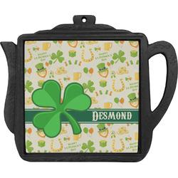 St. Patrick's Day Teapot Trivet (Personalized)