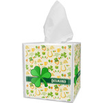 St. Patrick's Day Tissue Box Cover (Personalized)