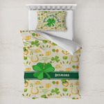 St. Patrick's Day Toddler Bedding w/ Name or Text