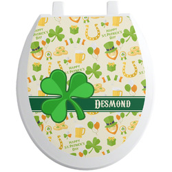 St. Patrick's Day Toilet Seat Decal (Personalized)