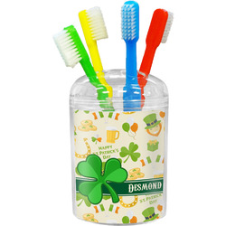 St. Patrick's Day Toothbrush Holder (Personalized)