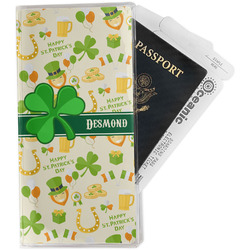 St. Patrick's Day Travel Document Holder