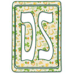 St. Patrick's Day Monogram Decal - Custom Sized (Personalized)