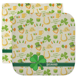 St. Patrick's Day Facecloth / Wash Cloth (Personalized)