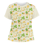 St. Patrick's Day Women's Crew T-Shirt (Personalized)