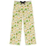 St. Patrick's Day Womens Pajama Pants (Personalized)