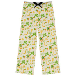 St. Patrick's Day Womens Pajama Pants (Personalized)