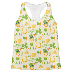 St. Patrick's Day Womens Racerback Tank Top (Personalized)