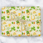 St. Patrick's Day Wrapping Paper (Personalized)