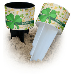 St. Patrick's Day Beach Spiker Drink Holder (Personalized)