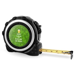 Kiss Me I'm Irish Tape Measure - 16 Ft (Personalized)