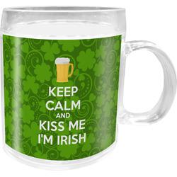 Kiss Me I'm Irish Acrylic Kids Mug (Personalized)
