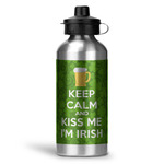 Kiss Me I'm Irish Water Bottle - Aluminum - 20 oz (Personalized)