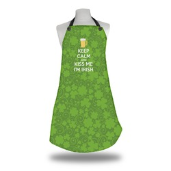 Kiss Me I'm Irish Apron (Personalized)