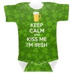 Kiss Me I'm Irish Baby Bodysuit (Personalized)