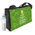 Kiss Me I'm Irish Diaper Bag
