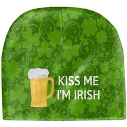 Kiss Me I'm Irish Baby Hat (Beanie) (Personalized)