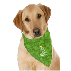 Kiss Me I'm Irish Pet Bandanas (Personalized)