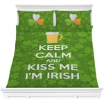Kiss Me I'm Irish Comforters (Personalized)