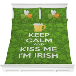 Kiss Me I'm Irish Comforter Set (Personalized)