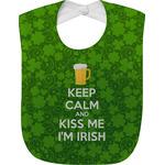 Kiss Me I'm Irish Baby Bib (Personalized)